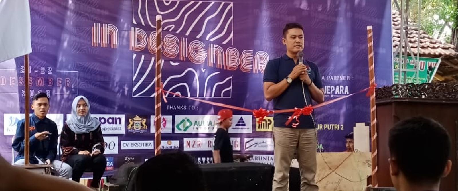 Pembukaan Pameran mahasiswa desain produk 2019