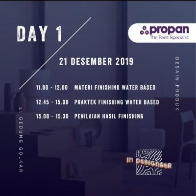 Agenda Pameran karya mahasisa Desain Produk 2019